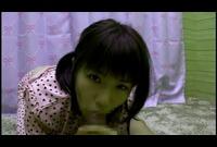 【童顔】○○生あんりちゃん☆パジャマでまったりセックス☆いろんな体位に挑戦する貧乳ちゃん☆